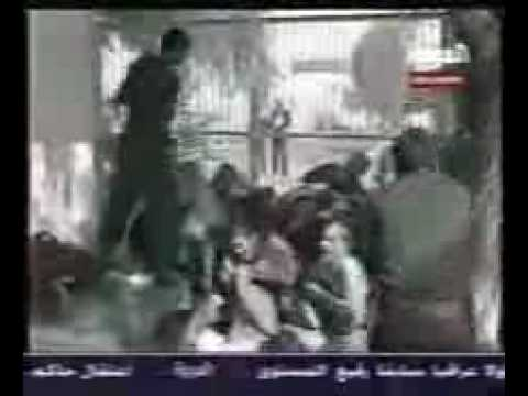 Please. do not watch  this near children. Iraqi prisons during the reign of Saddam Hussein..avi
