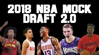 2018 NBA Mock Draft 2.0 | Picks 1-14