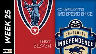 Indy Eleven vs. Charlotte Independence August 25th, 2019