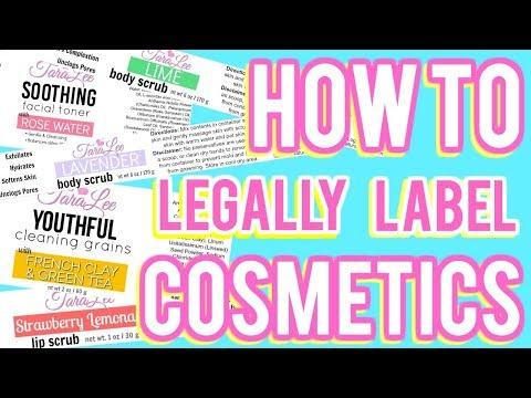 Download  How to Legally Label Cosmetics Ι TaraLee Gratis, download lagu terbaru
