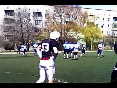 2013-04-20 Вінницькі Вовки - Азовські Дельфіни helmetcam