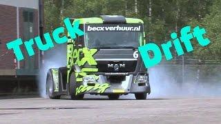 Truck Drift - MAN TGS and Ken Block