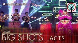 Little Big Shots Philippines: Sicat Lion Dancers