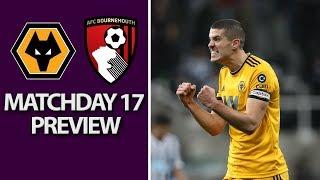 Wolves v. Bournemouth   PREMIER LEAGUE MATCH PREVIEW   12/15/18   NBC Sports