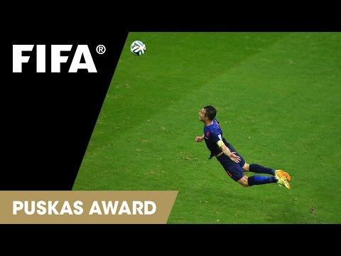 Robin van Persie Goal: FIFA Puskas Award 2014 Nominee