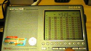 4525 kHz - Russian military reading numbers