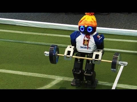 """Robots Compete in """"Robot Olympics"""""""
