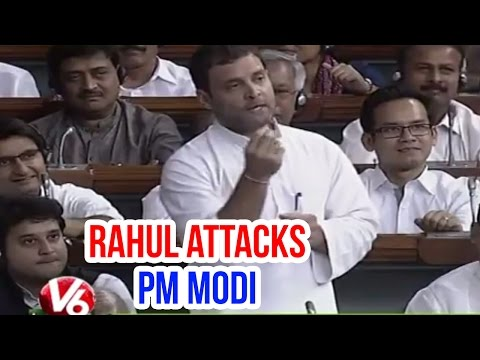 Rahul Gandhi fires on PM Modi over Land bill in Lok Sabha (21-04-2015)