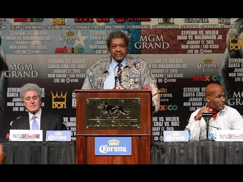 Don King gives Deontay Wilder advice on what to do after he gets beat by Bermane Stiverne