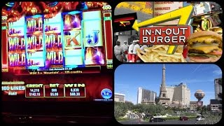 Las Vegas Vlog / Day 8 / $100 Bet In Flamingo,In- N - Out Burger & T-Mobile Arena