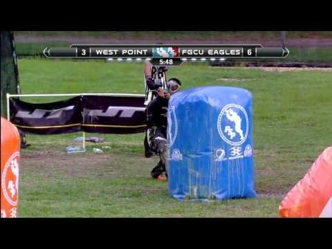 2013 NCPA College Paintball Champs Prelims - West Point vs. Florida Gulf Coast