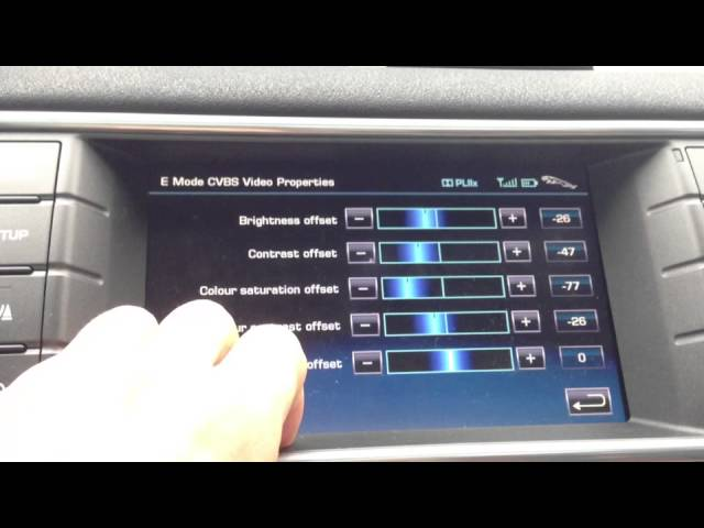 Range Rover Evoque Secret Infotainment E Mode ... - YouTube