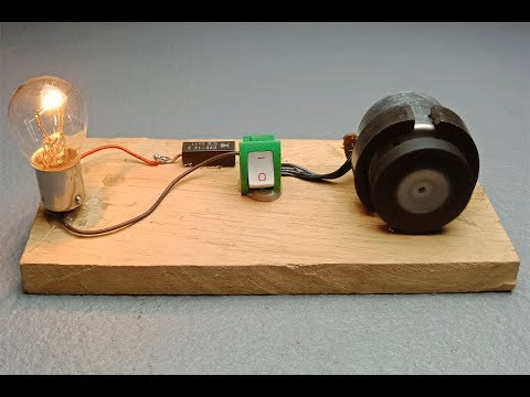 Free energy generator with magnets device - Easy experiments test on light bulbs 2019 thumbnail