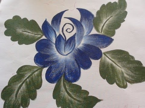 Flower Designs For Fabric Painting Fabric Painting Flower Motif