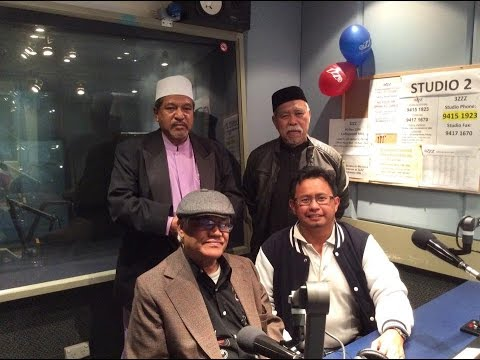 Mohamed Latiff Mohamed Interview; Melbourne 3ZZZ radio show