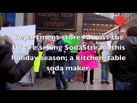 Ring out occupation: don't buy SodaStream for the holidays!