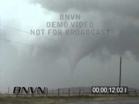 3/14/2003 Mountain View OK Tornado Stock Video