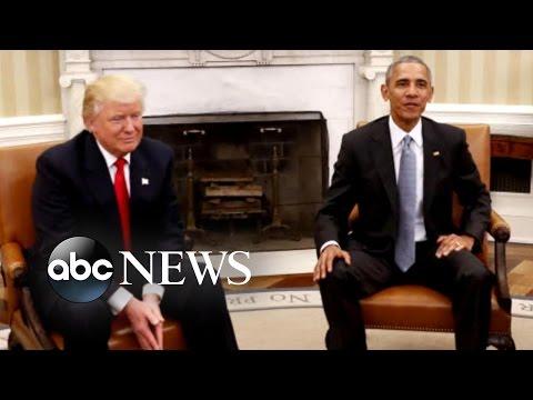 President-Elect Trump Goes to Washington