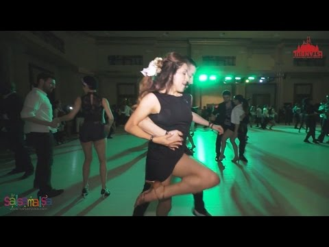 Liz Lira & Besher Hamdan Social Salsa Dance | IIDF 2016