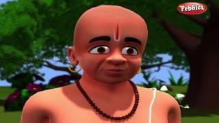 Thief behind the bush | 3D Tenali Raman stories in Kannada | Moral Stories for kids