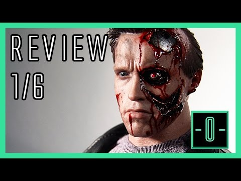 Hot Toys Terminator 1 T800 Battle Damaged / police shootout version video review MMS238 1/6