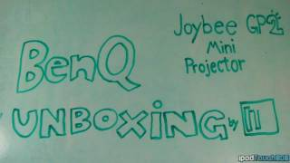 EPIC BenQ Joybee GP2 Projector Stop-Motion Unboxing