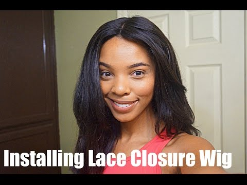HOW TO| SEW IN A LACE WIG