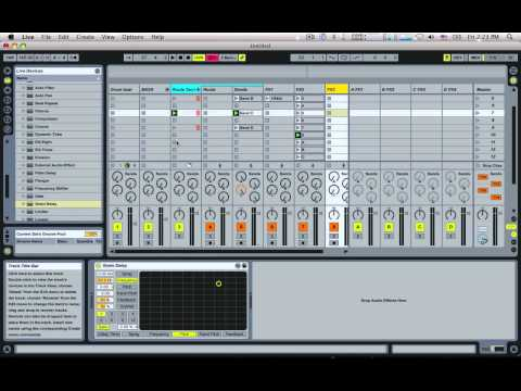 Automatic Glitching Machine - Ableton Live