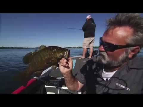 Current Busting Smallmouth Smashfest - Dave Mercer's Facts of Fishing THE SHOW