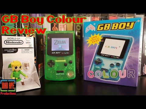 GB Boy Colour Review | A Nintendo Game Boy Clone That Doesn't Suck!