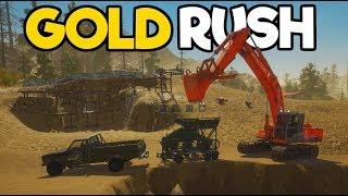 Gold Rush #3 - Mobile Wash Plant Setup TIER 2