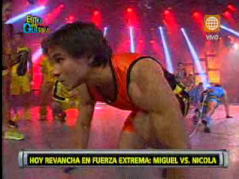 Esto es Guerra: Miguel Arce venció a Nicola Porcella en 'Fuerza extrema'