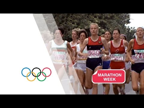 The first Olympic Women's Marathon - Los Angeles 1984 Olympic Games Image 1