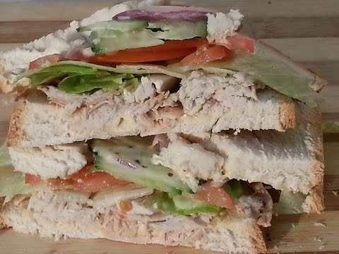 Boxing Day Lunch Time Turkey Sandwich Full Recipe