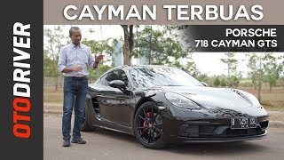 Porsche 718 Cayman GTS 2018 Review Indonesia | OtoDriver