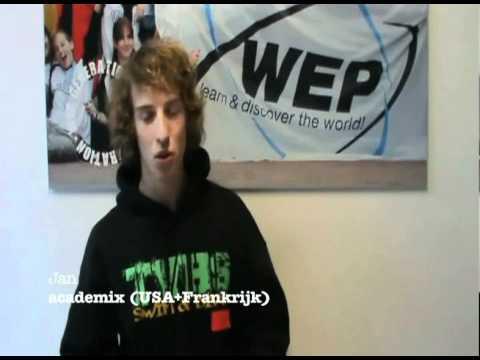 Wep Getuigenis - Jan - Academix In Usa + Frankrijk video