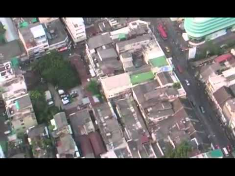 View from hotel LE BUA 5  Bangkok, Thailand   YouTubeted