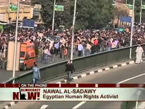 Leading Egyptian Feminist Nawal El Saadawi: