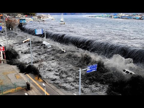 Tsunami   Caught On Camera