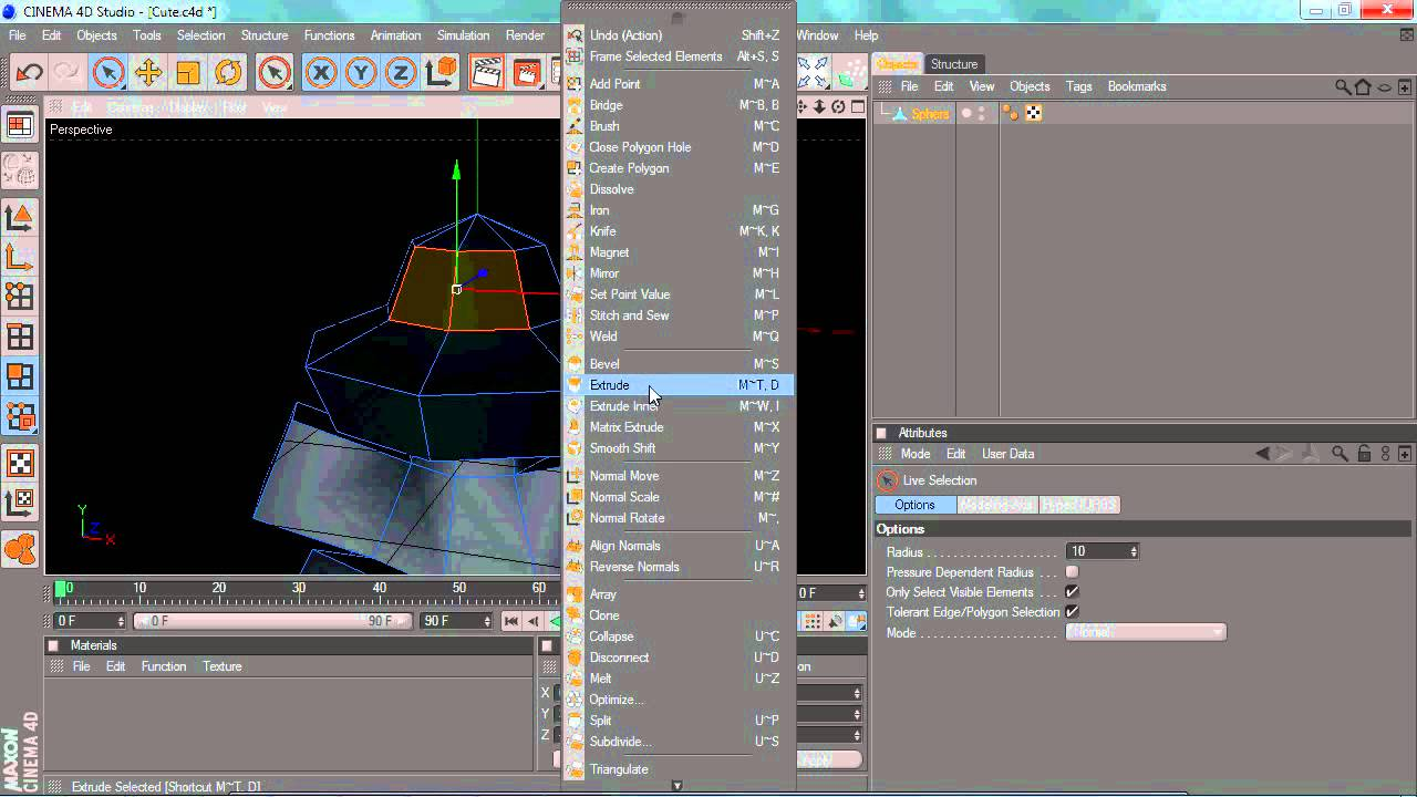 Cinema 4d Character Design Tutorials : Cinema d tutorial modeling the cute character youtube
