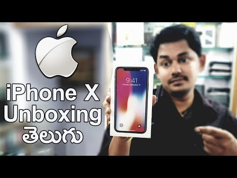 Apple iPhone X Unboxing || in Telugu || Tech-Logic