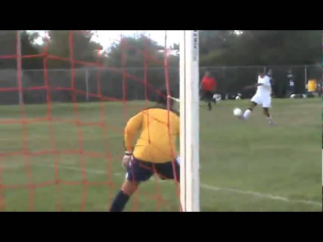 9-8-10 - This Frederick save leads to a Fort Morgan corner kick