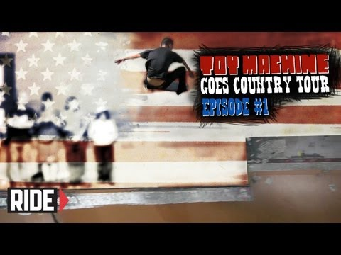 Leo Romero, Daniel Lutheran, Collin Provost, and More!- Toy Machine Goes Country Tour Episode 1 - 11/13/2012