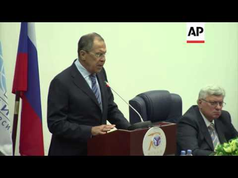 Russian FM Lavrov calls on participants in Ukraine talks to push for ceasefire
