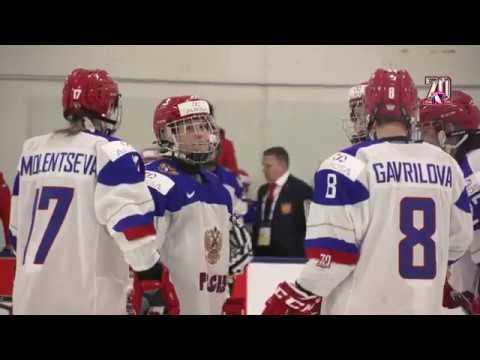 Женский чемпионат мира 2017.  Россия - Швеция 4:3(Б). Матч за 5-е место