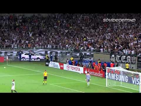 Atlético MG 2 x 0 Olímpia PAR) HD   Libertadores 2013   24 07 2013