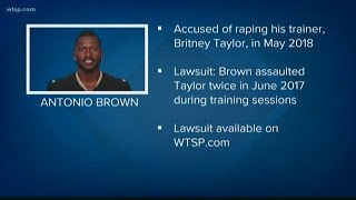 NFL star Antonio Brown's former trainer accuses him of rape | 10News WTSP