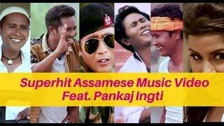 The Making of  Assamese Music Video ft. PANKAJ INGTI