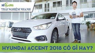 [Trải nghiệm nhanh] Hyundai Accent 2018 có đủ tầm cạnh tranh Honda City và Toyota Vios?  4K Xế Cưng 