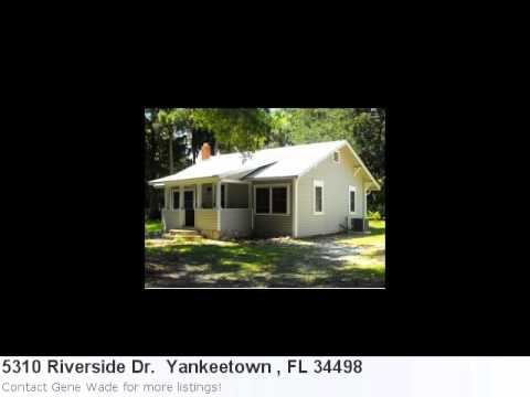 Mls# 356234 Is A Wonderful Home Located In Yankeetown , Fl.